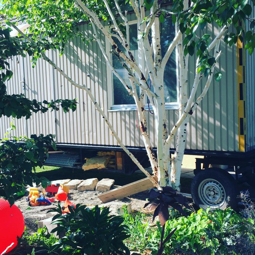 Bauwagen der Gartenfabrik